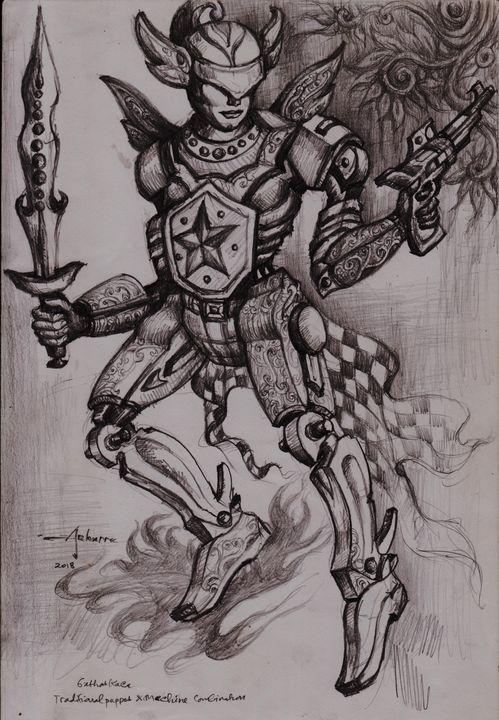 Gatotkaca - ARHARRA ART