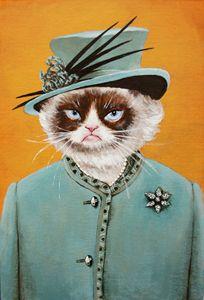 Queen Grumpy Cat