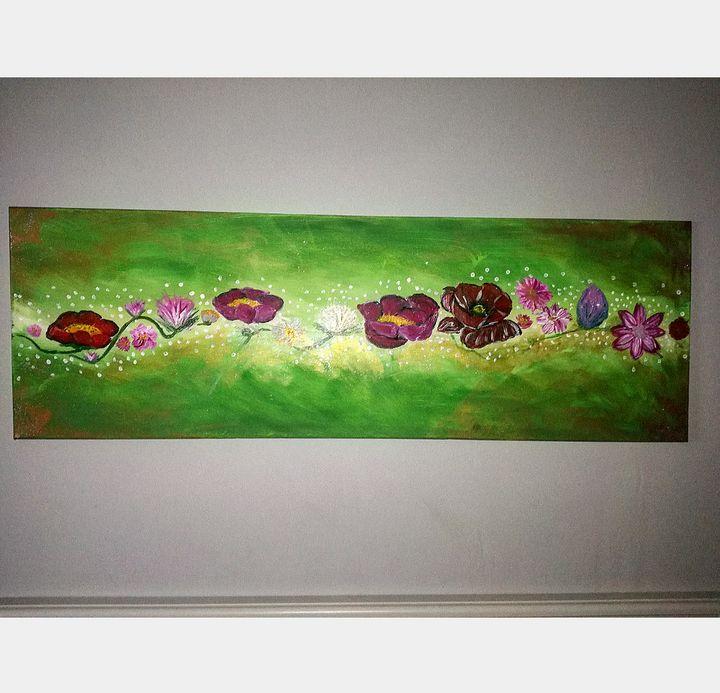 frise florale - Colors by lucie