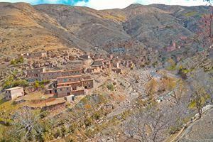Village Nestled in the High Atlas