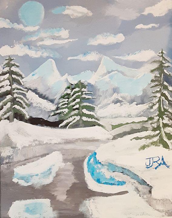 Frozen Valley - AllenArtsStudios
