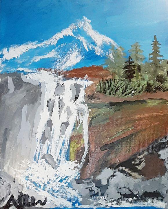 Over flow - AllenArtsStudios