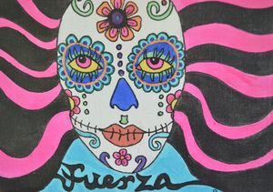 Fuerza Sugar Skull Day of the Dead