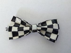 Checkered Bow