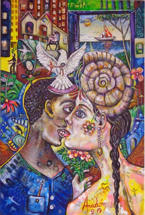 The Kiss - Amadonart Gallery