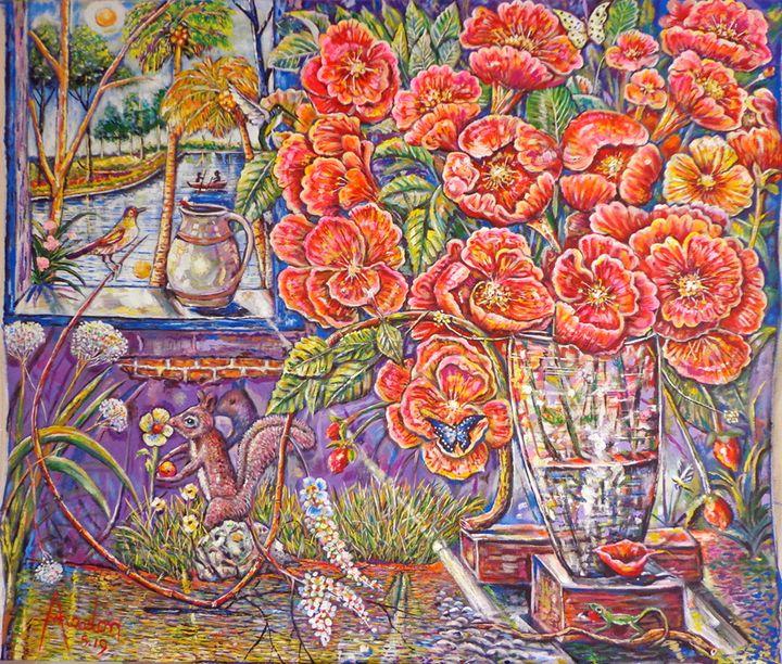 Flowers - Amadonart Gallery