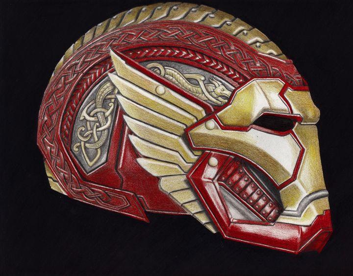 Asgardian Iron Man - Alkeam Cooke
