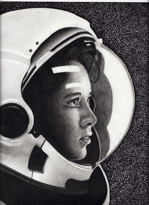 Astronaut - Alkeam Cooke