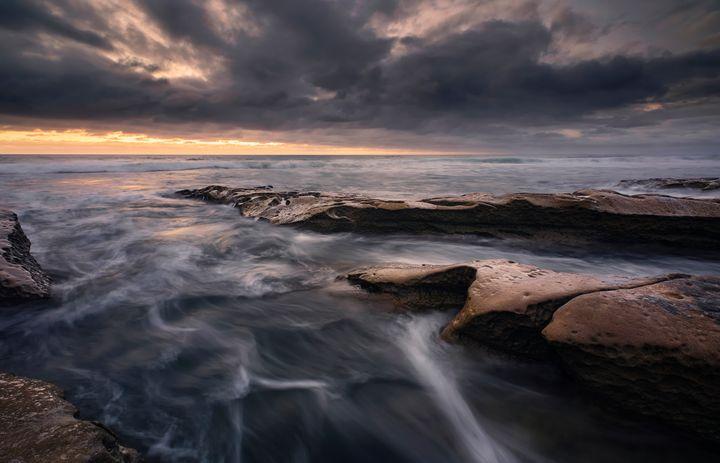 Stormy Shore - Bryan Hughes