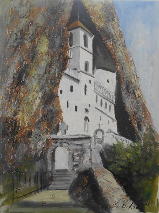 MONASTERY OSTROG - MONTENEGRO - ARTS FROM SERBIA