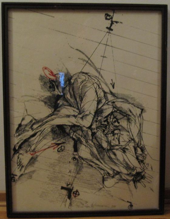 GRAFICS 86 OF 90 - ARTS FROM SERBIA