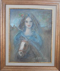 THE GIRL WITH A HORSE