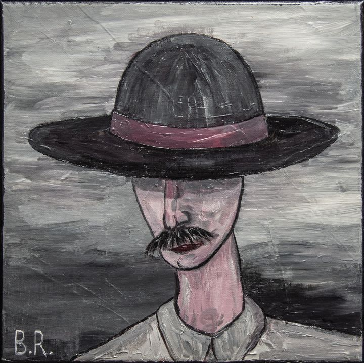 A study of a man in a hat - Boris R