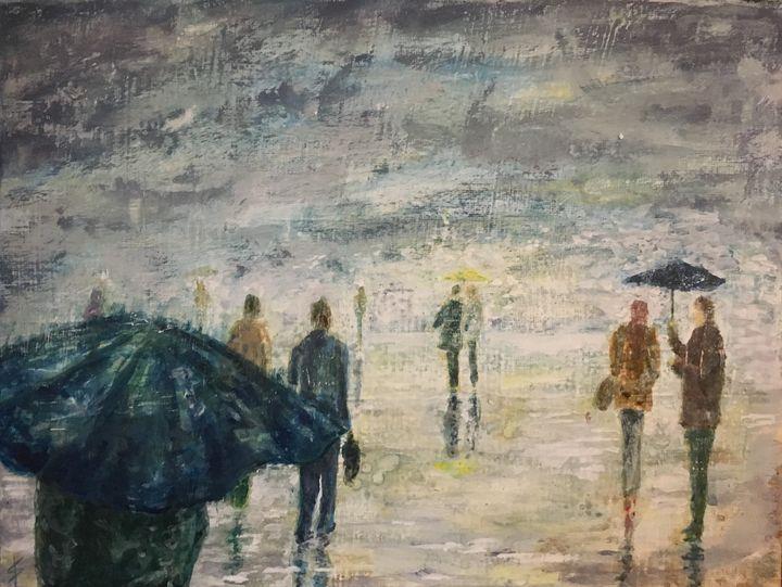 In the Rain - StewArt Tornberg
