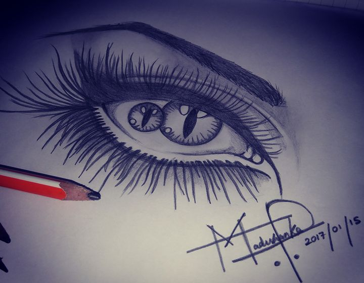 Creepy eye. - Master Ashan