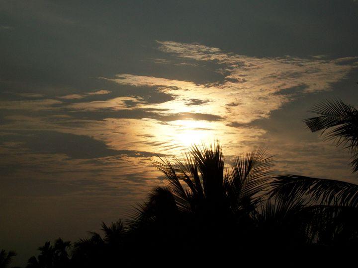 Sunset From Rooftop - Sayan Dutta AJ