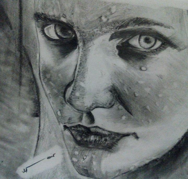 Blended potrait - Uzair