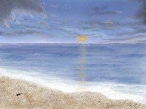 Beachscape - Digital Drawing