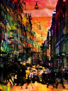 Walking people - Gabi Hampe