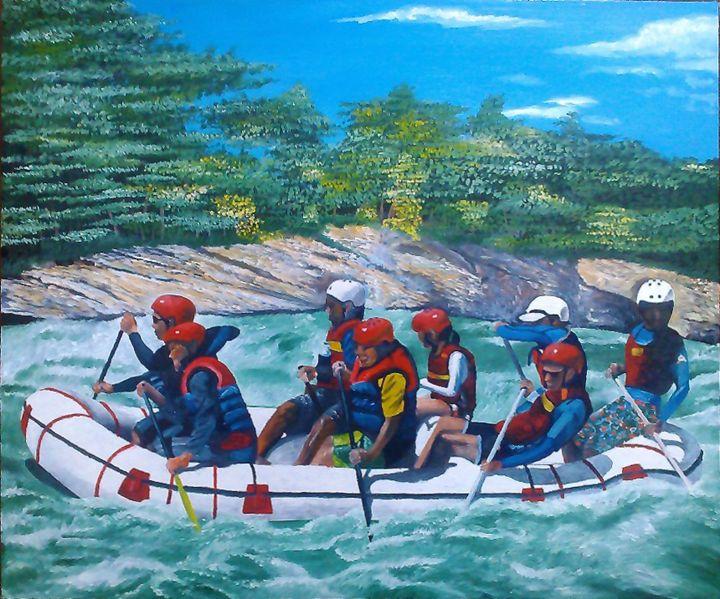River Rush - Kenn's Art Expo