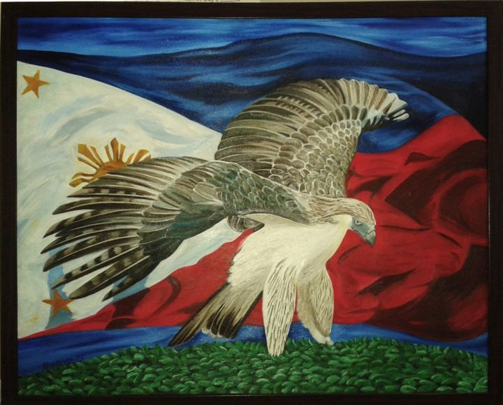 The Philippine Eagle - Kenn's Art Expo