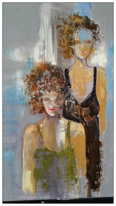 Paris Ladies - Jeanie Art and Silk Art
