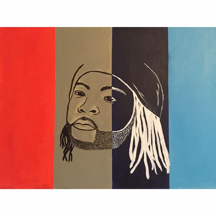 PARTYNEXTDOOR CANVAS PAINTING - L-Mac Hip-Hop Art