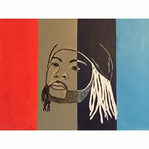 PARTYNEXTDOOR CANVAS PAINTING