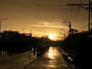 Tuguegarao City Rainy Evening