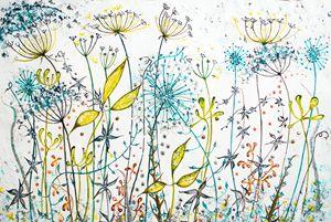 Seedhead frenzy - Lynette Bower Arts
