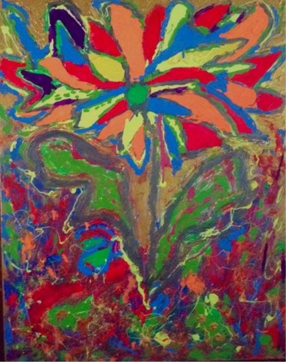 Neon Flower - Gallery 3 Bishop Arts
