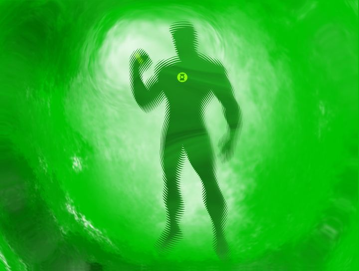 Green Lantern - Josh Wills Art