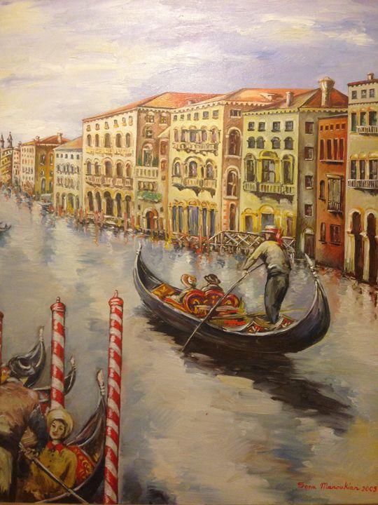 On a Tour - Sona Manoukian Art