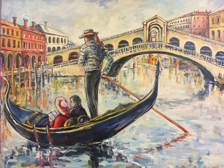 Rialto Bridge - Sona Manoukian Art