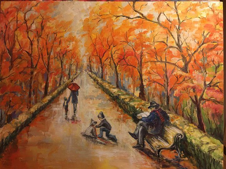 Fall - Sona Manoukian Art