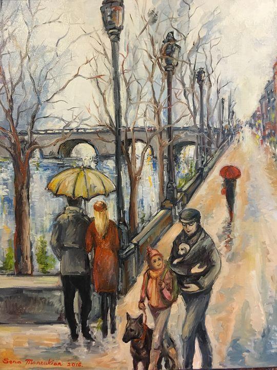Streets of France - Sona Manoukian Art
