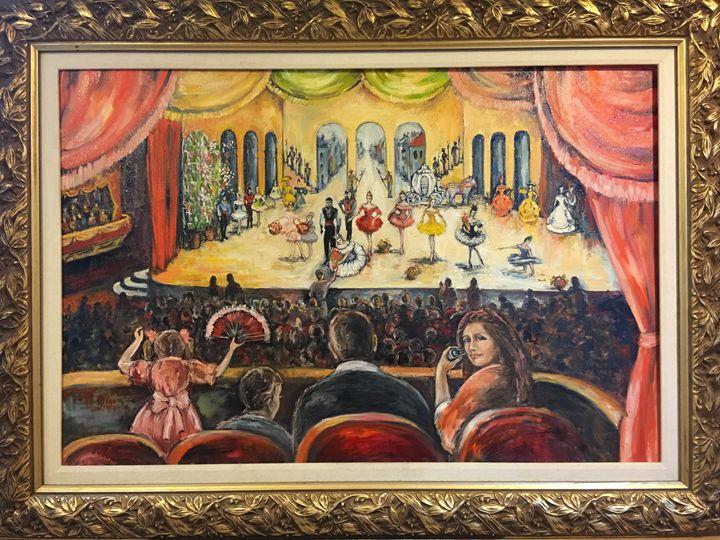 The Play of Cinderella - Sona Manoukian Art
