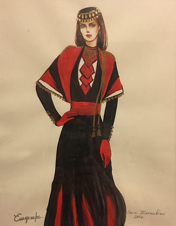 Shatakh Costume - Sona Manoukian Art