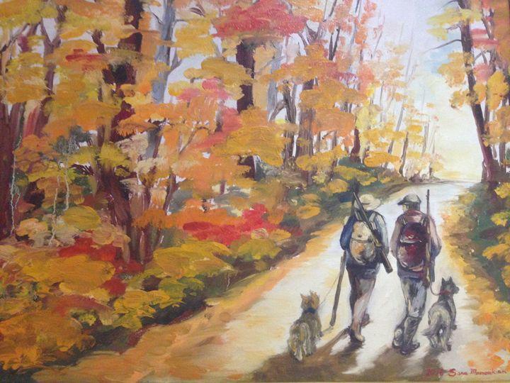 Forest - Sona Manoukian Art