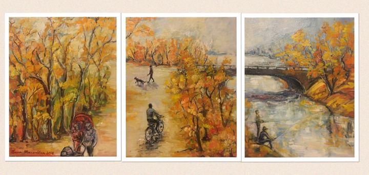 3-piece Charles River - Sona Manoukian Art