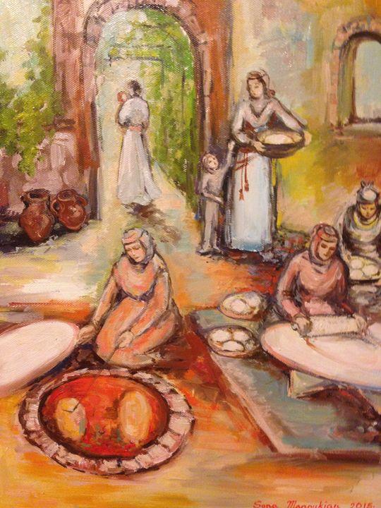 Tonir - Sona Manoukian Art