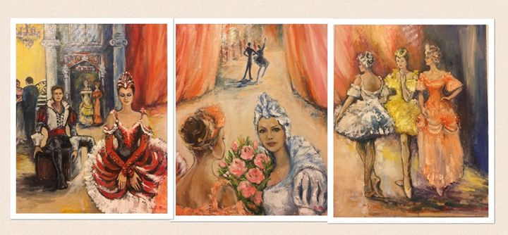 3-piece Backstage Set - Sona Manoukian Art