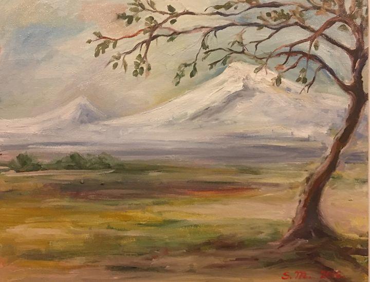 The tree of Ararat - Sona Manoukian Art