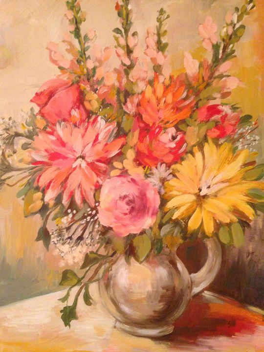Freshly Picked Flowers - Sona Manoukian Art