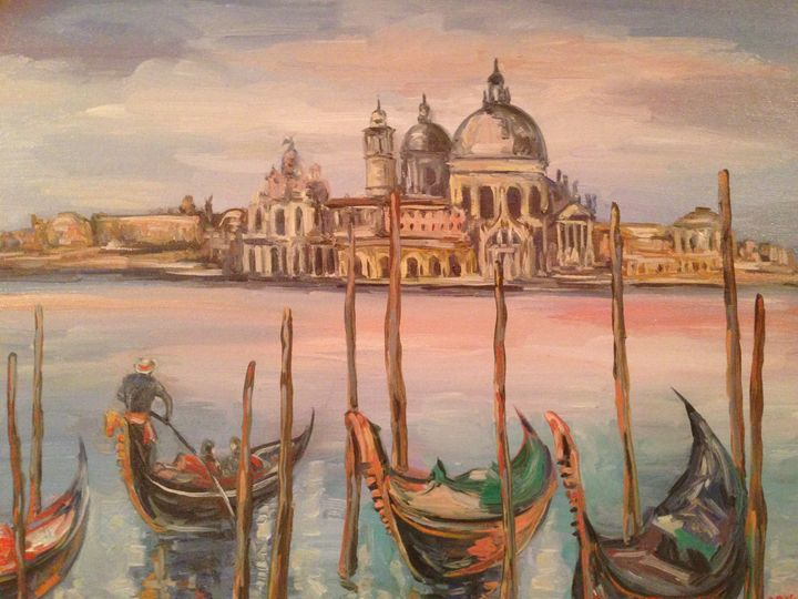 Venetian Sunset - Sona Manoukian Art