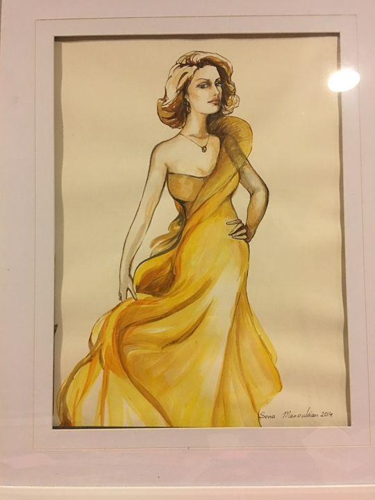 Gold - Sona Manoukian Art