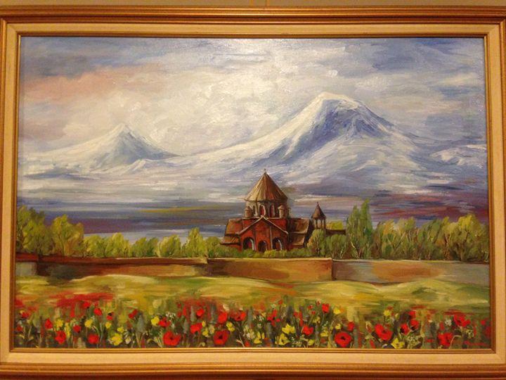 Monastery - Sona Manoukian Art