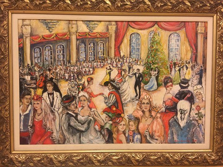 New Years Eve - Sona Manoukian Art