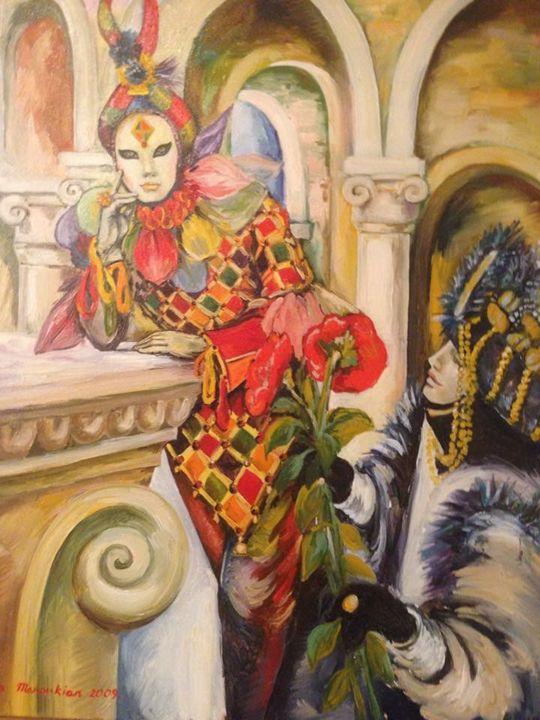 Masquerade - Sona Manoukian Art