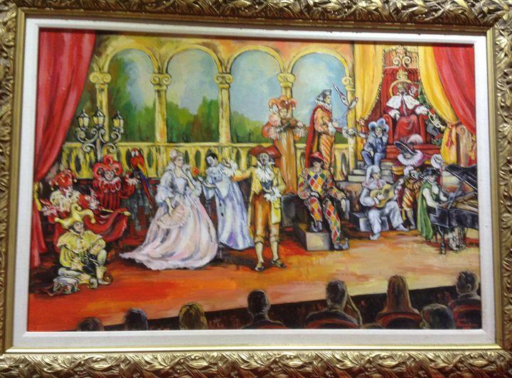 The theatre - Sona Manoukian Art